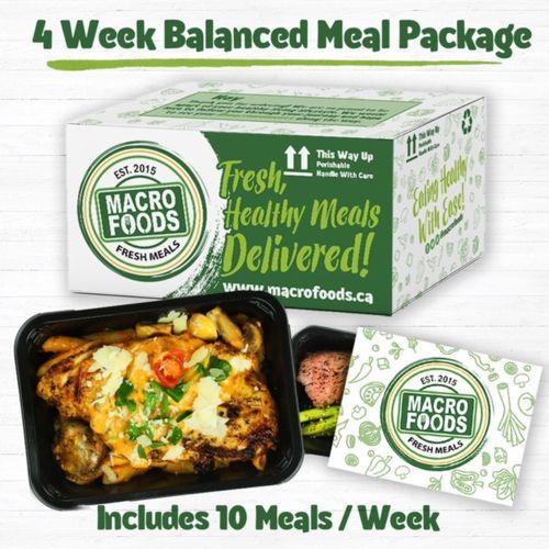 Macro Foods Meal Package - 4 Week Balanced Plan