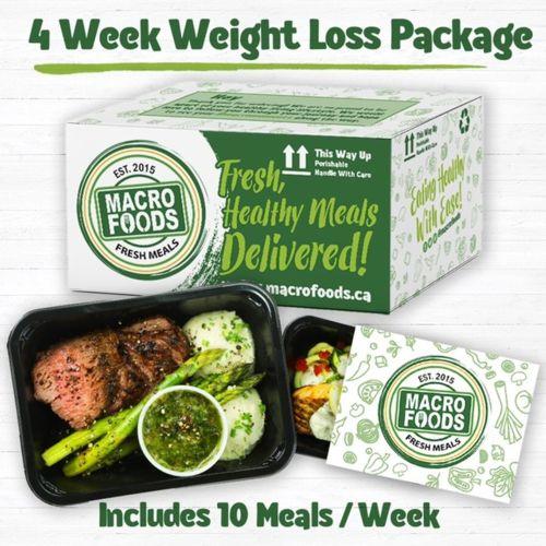 Macro Foods Meal Package - 4 Week Weight Loss Package