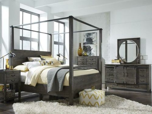 Image for MAGNUSSEN Queen Poster Bed B3804-56H. Snugglers Furniture