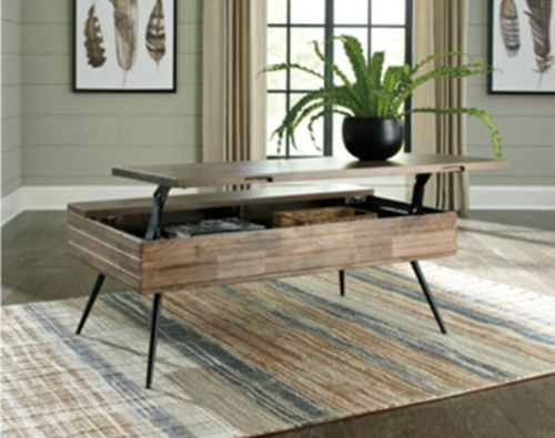 Image for ASHLEY COFFE TABLE AS-T825-9. Snugglers Furniture